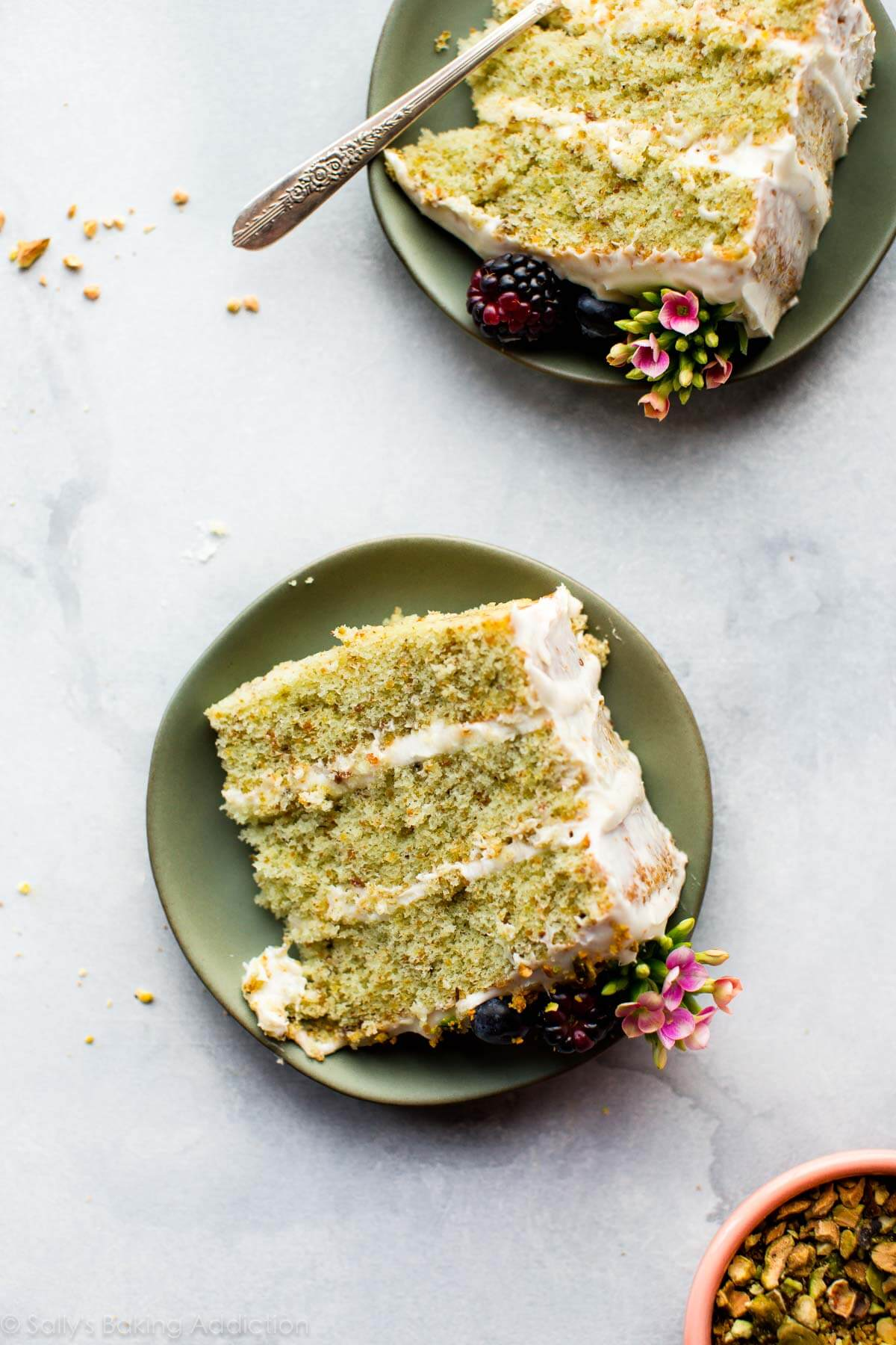 Pistachio Cake - Sallys Baking Addiction
