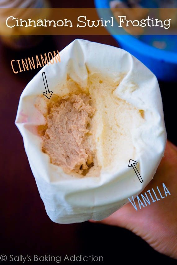 How to make Cinnamon Swirl Frosting. This stuff is so good!
