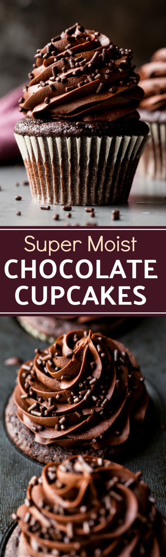Chocolate cupcake recipe yield 6